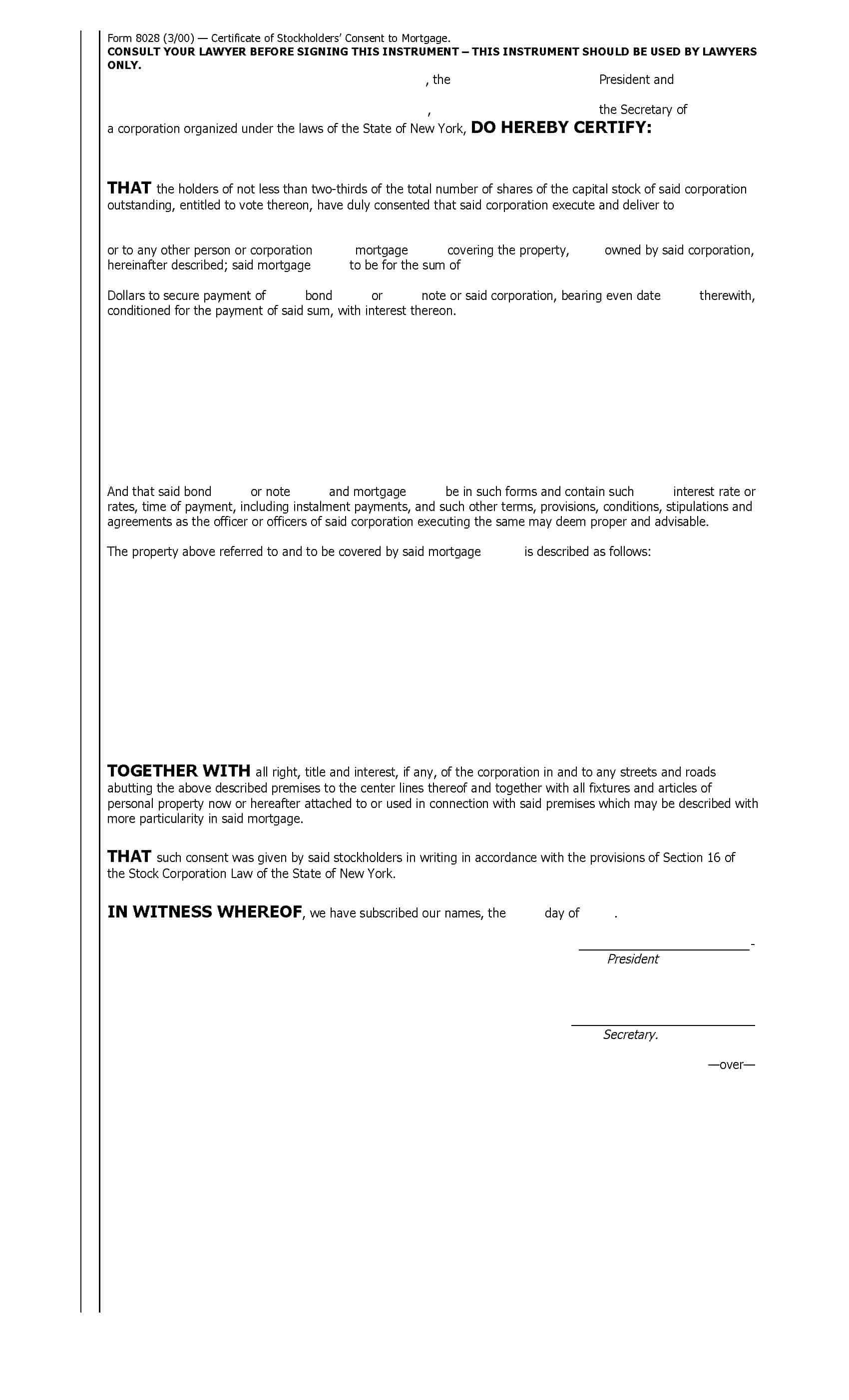 NY Abstract Company Forms | New York Title Insurance ...