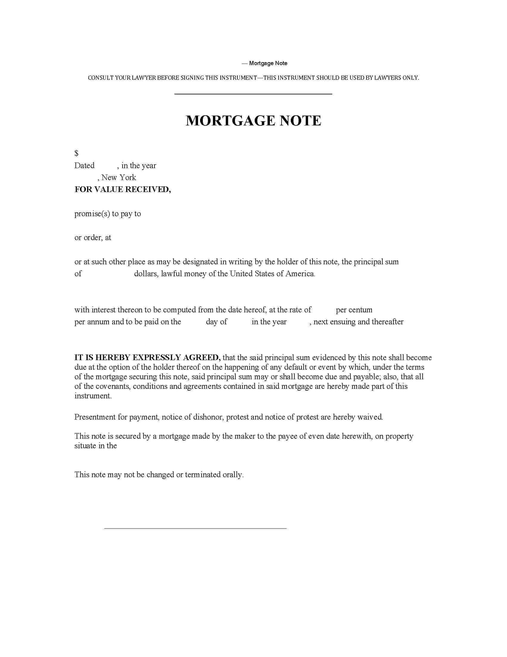 NY Abstract Company Forms | New York Title Insurance